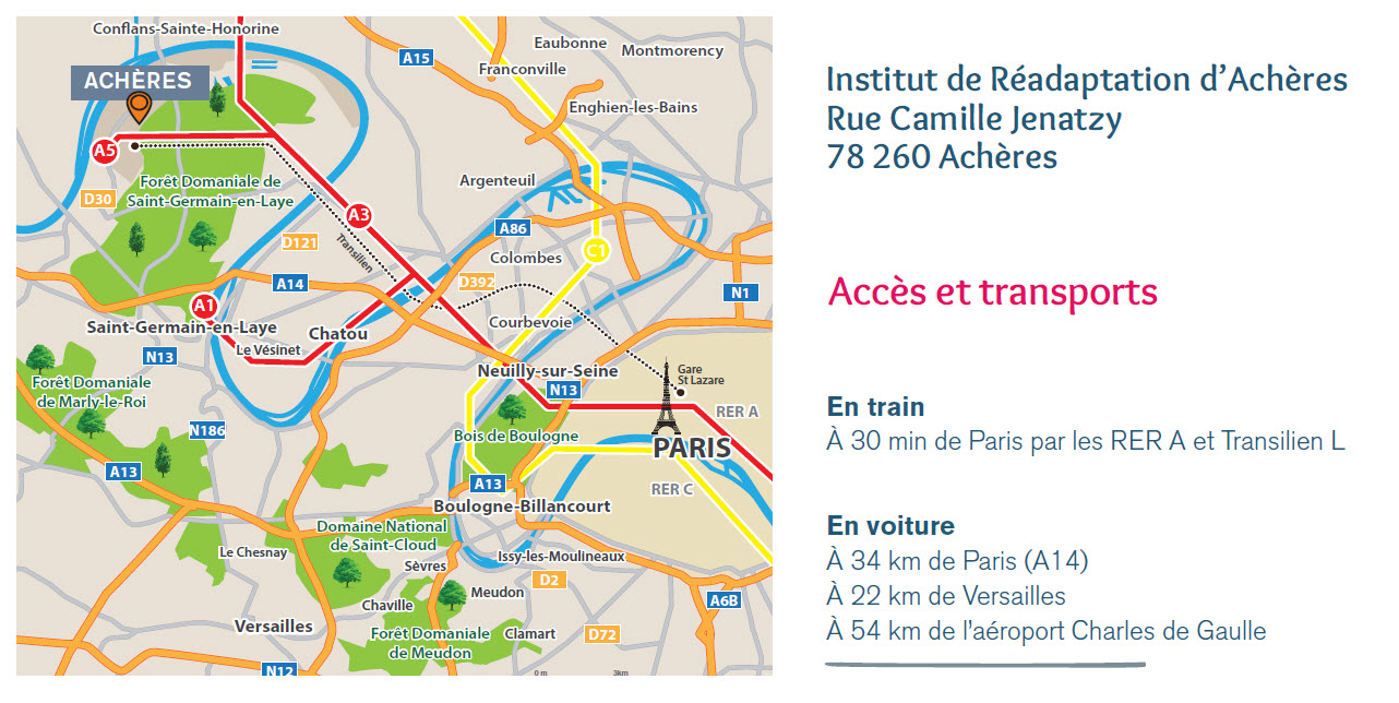 Plan Quartier Acheres Institut Readaptation