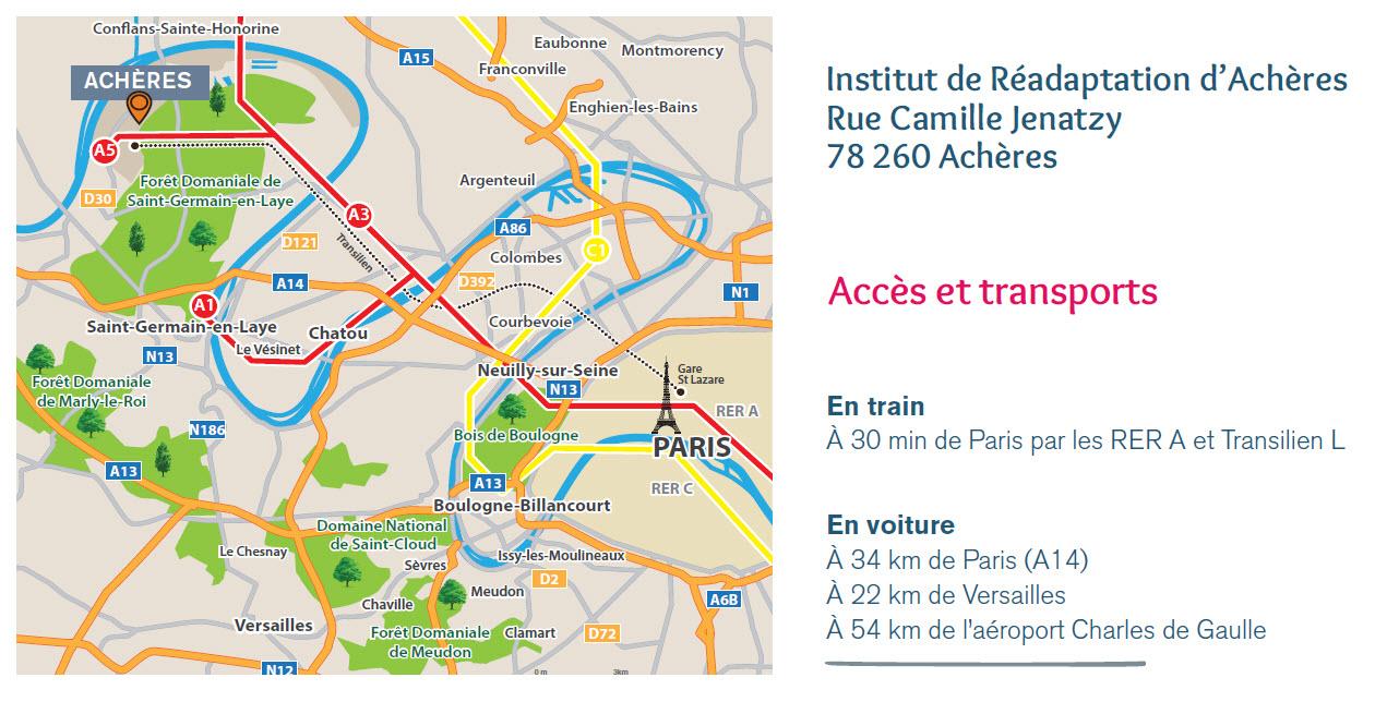 Plan Quartier Acheres Institut Readaptation