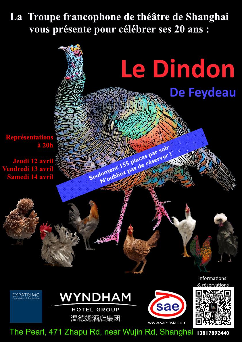 Le Dindon Troupe Francophone Shanghai