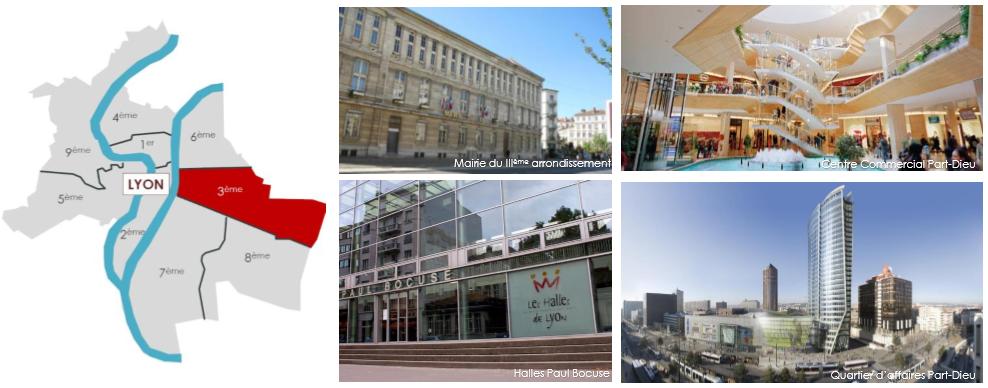 3e arrondissement Lyon, investissement
