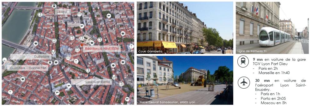 Ninteen, demembrement propriete, nue propriete, localisation, Lyon
