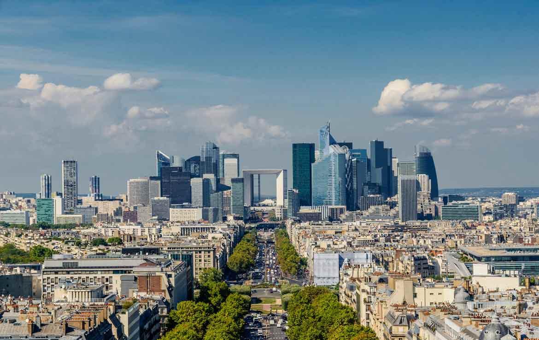 Vue sur la Defense, Paris