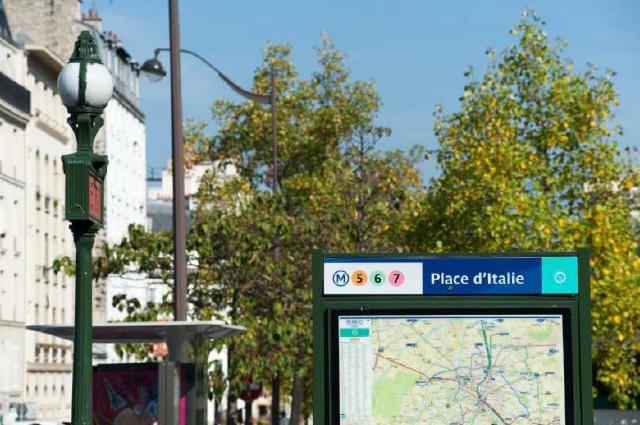 Place d'Italie, Paris 13e