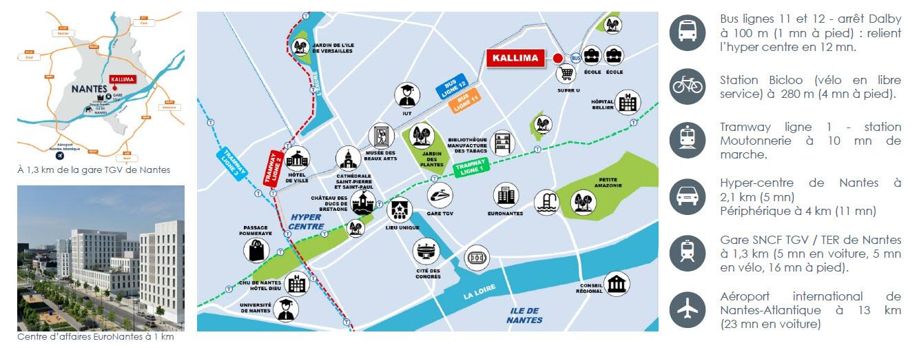 Plan Quartier Saint-Donatien, Kallima