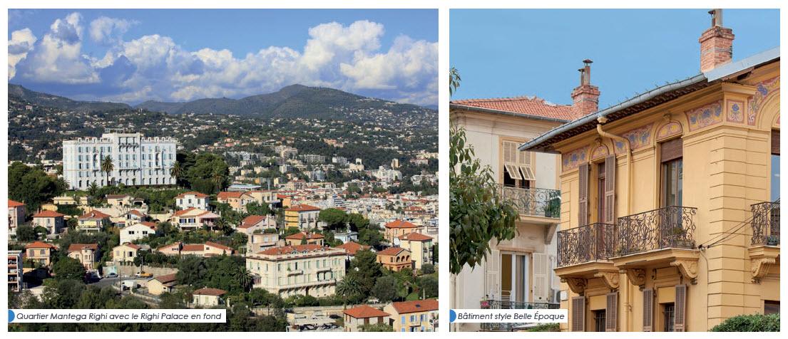 Quarter de Mantega à Nice