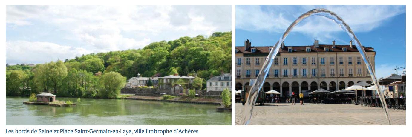 Saint Germain en Laye, Acheres SSR