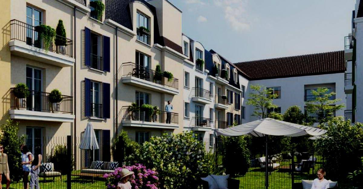 Vue Residence Magnolias Villiers Sur Marnes, investissement immobilier Paris
