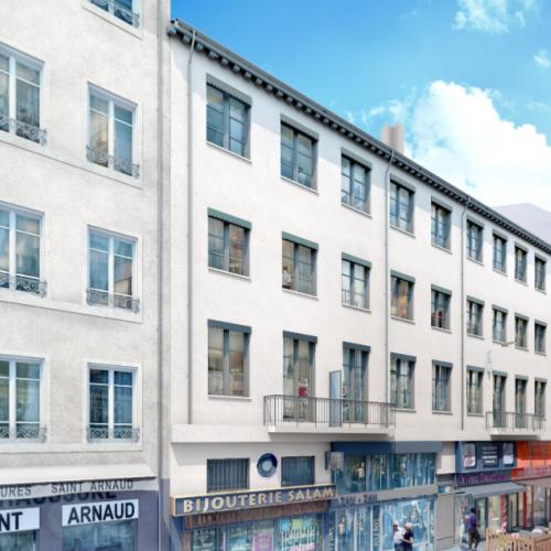 Residence Ninteen a Lyon, investissement en Nue-propriete temporaire