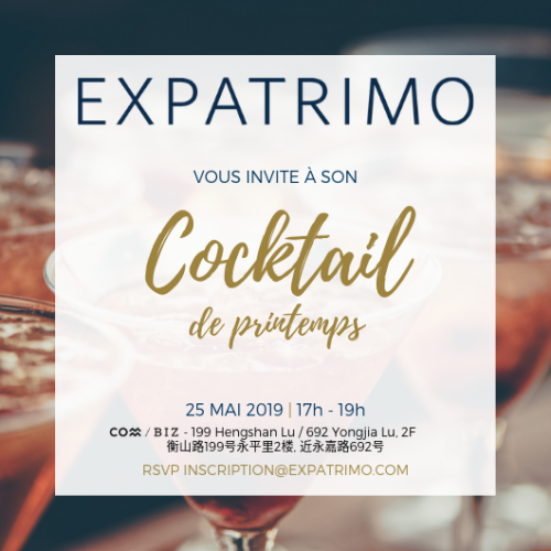 Invitaiton Cocktail Expatrimo 2019