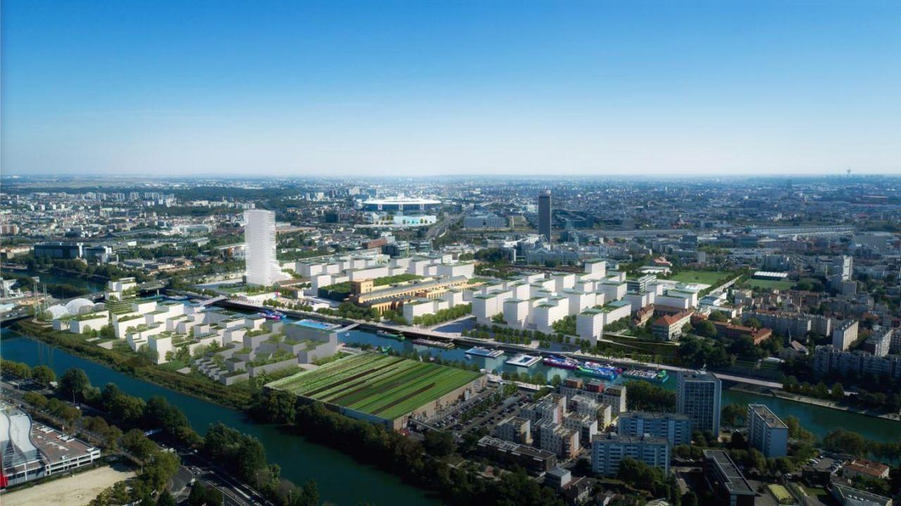 Le village Olympique et la zone Nord de Paris